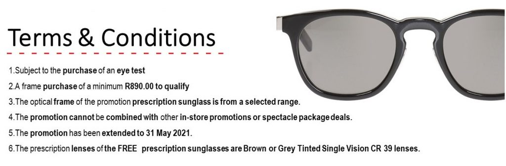 Latest Optometrist, Spectacles & Sunglasses Promotions